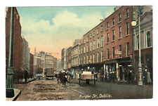 More details for aungier street - dublin real photo postcard c1908