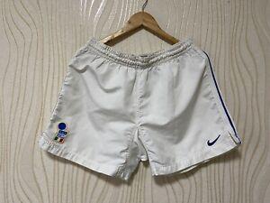 ITALY 1996 1998 FOOTBALL SOCCER SHORTS NIKE sz M