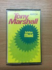 Mc Tony Marshall Schöne Maid Amiga C 50-218 Rare DDR Musikkasette Rot/Weiß Look