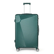 Hard Shell Suitcase TSA Lock Hand Travel Luggage 4 Wheel Trolley Case 28'' Green