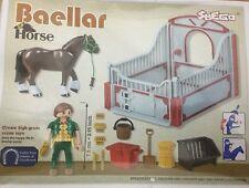 High Grade Scene Toys-Baellar Horse 30 Pcs 88704 Age 3+