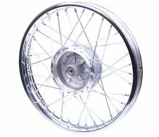 Chrom Speichenrad Stahl Felge 1,6x16 Rad pas. für Simson S51 Schwalbe S70 Tuning