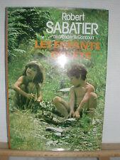 * LIVRE - LES ENFANTS DE L'ETE DE ROBERT SABATIER