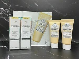 Lot/2 It Cosmetics Confidence In A Cleanser - 20 ml x 2