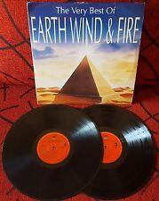 EARTH, WIND & FIRE **The Very Best** VERY SCARCE 1992 Spain 2-LP SET