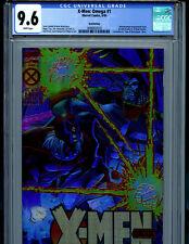 X-Men Omega #1 CGC 9.6 GOLD Retailer Incentive Chromium Cover 1995 Marvel B22