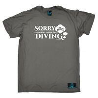 Diving - Probably Thinking About Diving - diver funny Birthday tshirt T-SHIRT