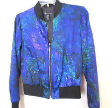 NWT INC Light-weight JACKET Size:X Small Shades of Blue Polyester Lining