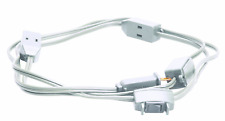 Multi-Outlet Extension Cord with Switch, 9-Outlet, 15-Foot, White