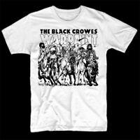 The Black Crowes WARPAINT Album Cotton White Unisex All Size T-shirt C1885