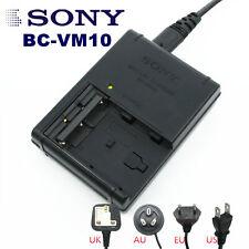 Original SONY BC-VM10 Charger FOR NP-FM500H NP-FM50 FM90 QM71D QM91D A57 A65 A77