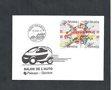 Schweiz,1998 Brief mit Ersttagsstempeln, Ganzsache, Michelwert € 25