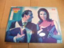 THE AVENGERS DIANA RIGG TV CORNERSTONE CHASE PREMIER CARD 7 PATRICK MacNEE