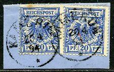 Kamerun  V 48 b (2)  Briefstück  Kamerun   gepr.   160,-