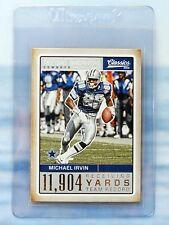 2016 Panini Classics Record Breakers Michael Irvin Dallas Cowboys NFL Card. #21.
