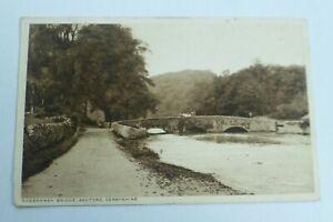 R391 SHEEPWASH BRIDGE Ashford Derbyshire Postcard 1926