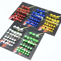 30Pcs Universal Motorcycle Scooter Screw Nut Bolt Cap Cover Decoration Kit