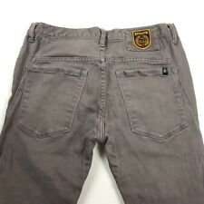 Troy Lee Mens Jeans Semenuk Gray with Hint of Brown Tag Size 32x32.5