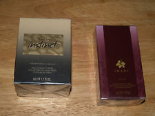 2 sealed avon perfumes in box. imari and instinct.  both 1.7 oz