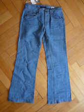 Neu Original Vintage 55 Vintage55 Flare Jeans Schlag Jeans Jane Birkin  W 30