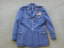 US Military jacket coat service Medals WW2 WWII Korea insignia