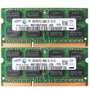 8GB (2x4GB) PC3-8500S DDR3 200 pin RAM For Mac Mini MC270LL/A 2.4GHZ A1347