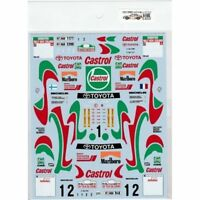 Museum Collection 1/24 Celica ST205 Tour de  Corse & NZ Decal for TAMIYA D766