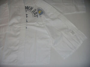 Taekwondo Martial Arts Uniforms, New, Free Shipping.