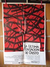 A2087       LA ULTIMA TENTACION DE CRISTO SCORSESE DAFOE KEITEL