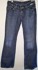 SILVER Women's DESIGNER Jeans  Low Rise Boot Cut Distressed Made in Canada 29/33
