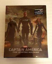 Marvel CAPTAIN AMERICA WINTER SOLDER - Blufans Lenticular Blu Ray Steelbook OVP