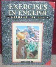 Exercises in English Grammar: Level E