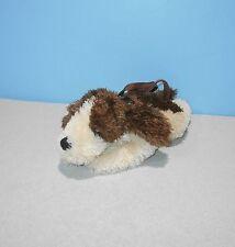 "12"" Long JAAG Plush Bassett Hound Stuffed Plush Handbag Kids Purse Animal Lovey"