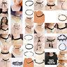 10Pcs/Set  Black Lace Velvet  Necklace Choker Vintage Chain Collar Punk Jewelry