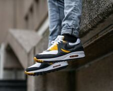 ❤ BNWB & Genuine Nike ® Air Max Light Trainers in Black, Grey & Gold UK Size 7