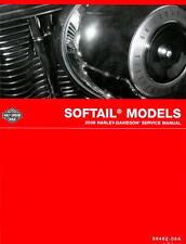 2008 Harley-Davidson FXST FXCW FLST Softail Motorcycle Service Manual : 99482...