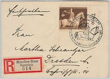HORSE / HUNTING -  POSTAL HISTORY - AUSTRIA: Cover with special postmark 1943