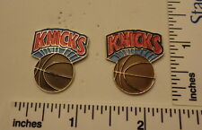 TWO Old 1989 Limited Edition NBA Basketball Pins - New York Knicks