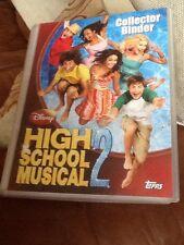 Near Complete Topps Disney High School Musical 2 Binder