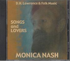 MONICA NASH - SONGS AND LOVERS - D. H. Lawrence & Folk Music - CD Hiltongrove