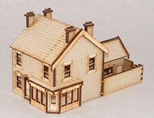SH002 Victorian Shop / Terraced House Right Hand OO Gauge Laser Cut Kit