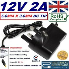 More details for 12v power supply plug to fit bt ultra hd youview uhd dtr-t4000/1tb freeview box