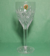 Waterford Crystal Steamed Goblet Wine Glass Heavy High Quality