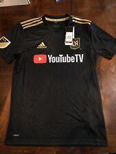 Adidas MLS Jersey Los Angeles Football Club LAFC Black Men Small