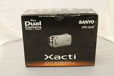 BRAND NEW SANYO XACTI VPC-GH2 Dual Camera (BLACK)