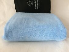 LARGE Quick Dry Microfiber Towel LIGHT BLUE Dog Grooming Cleaning Drying Bag