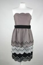 COAST Scalloped Bandeau Dress Size 12 RRP £160