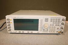 Agilent E4438C 3GHz ESG Vector Signal Generator; 2-5-1E5-400-401-402-404-419-503
