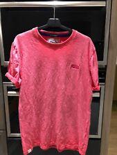 Pink Superdry T Shirt Medium