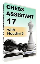 Chess Assistant 17 with  Houdini 5